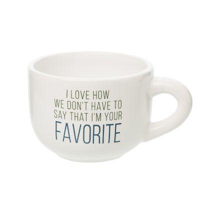 Your Favorite Cappuccino Mug
