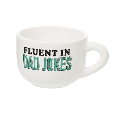Fluent In Dad Jokes Cappuccino Mug