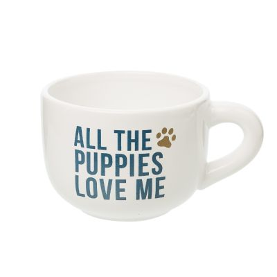 All The Puppies Love Me Cappuccino Mug