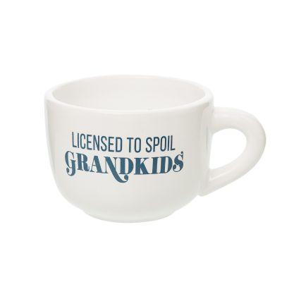 Licensed To Spoil Grandkids Cappuccino Mug