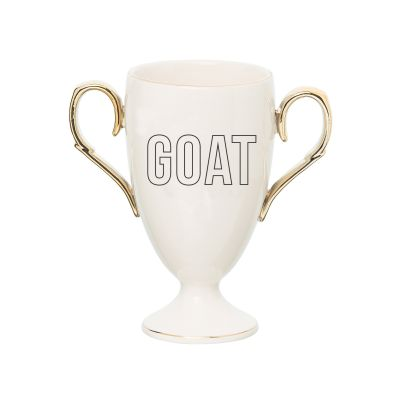 Porcelain GOAT Trophy Mug