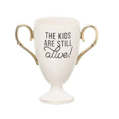 Porcelain Still Alive! Trophy Mug
