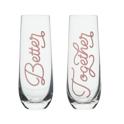 Better/Together Champagne Glasses Set of 2