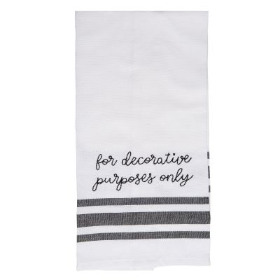 For Decorative Purposes Only Tea Towel