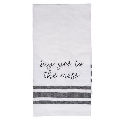 Say Yes To The Mess Tea Towel