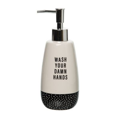 Wash Your Damn Hands Soap Dispenser