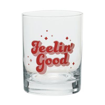 Feelin Good Rocks Glass