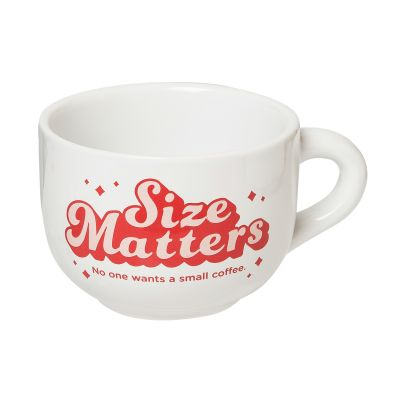 Size Matters Cappuccino Mug