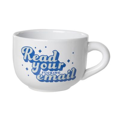 Read Your Email Cappuccino Mug