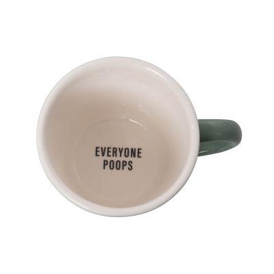 Everyone Poops Friendly Reminder Mug