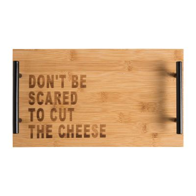 Don't Be Scared To Cut The Cheese Board