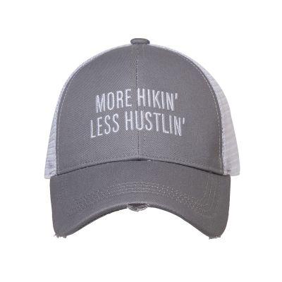 More Hikin' Less Hustlin' Baseball Hat