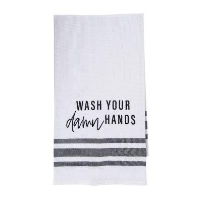 Wash Your Damn Hands Tea Towel