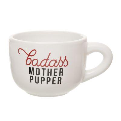 Badass Mother Pupper Cappuccino Mug