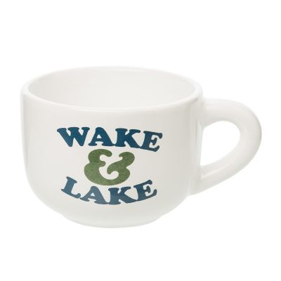 Wake & Lake Cappuccino Mug