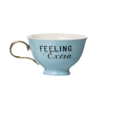 Porcelain Feeling Extra Oversized Teacup