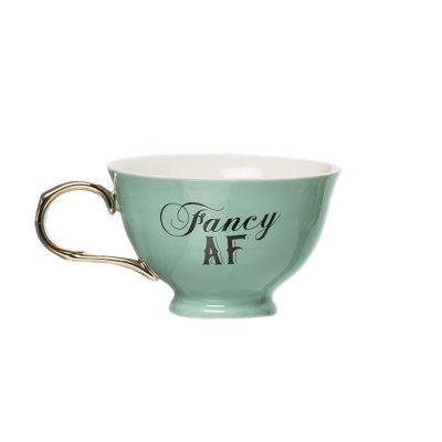 Porcelain Fancy AF Oversized Teacup