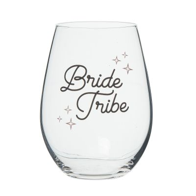 Bride Tribe Wine Glass