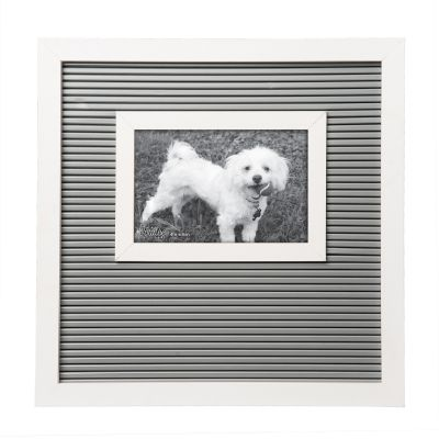 Gray and White Letter Board Frame