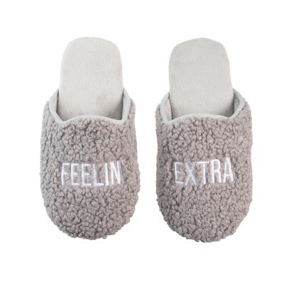 Feelin' Extra Fabric Slippers Large/Xlarge