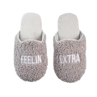 Feelin' Extra Fabric Slippers Large/Xlarge
