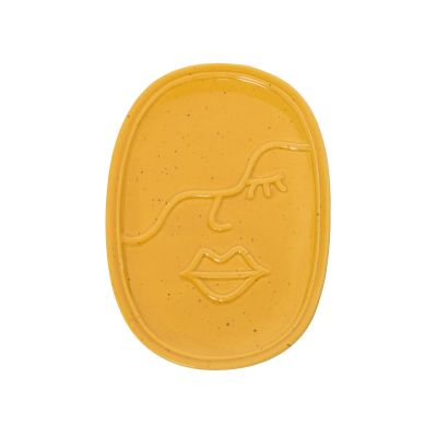 Amber Face Ceramic Catch All