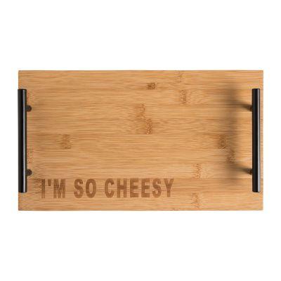 I'm So Cheesy Cheese Board