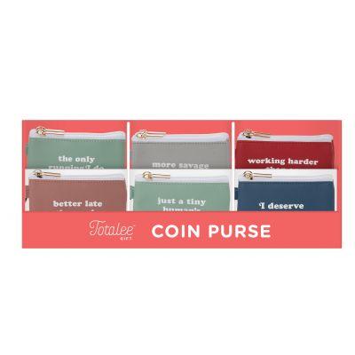 Keyring Zip Wallet Display (36 pcs)